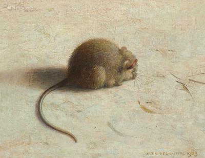 reproductie Henk Helmantel - muisje III