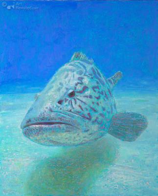 reproductie Huib Rademakers - Bigh Fish