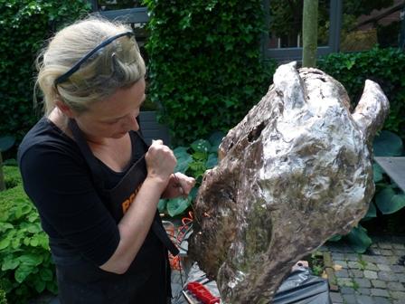 Jeanette Jansen Bronzen Beelden.Kunstgalerie Oog Voor Natuur